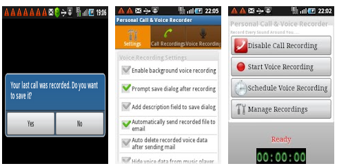 android free call recorder app