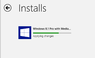 windows 8.1 Installing