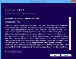 Windows 8.1 Licence Setup