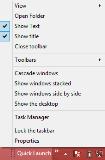 windows 8 customize quick launch
