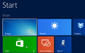 windows 8.1 Store Apps