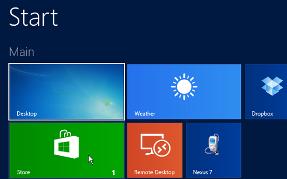 windows 8.1 Store Apps